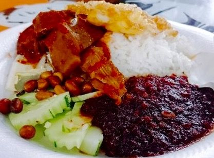 Nasi Lemak @ Gerai Tawaf @ Corner of Jalan Radin Anum and Radin Anum @ Sri Petaling - courtesy of HungryGoWhere