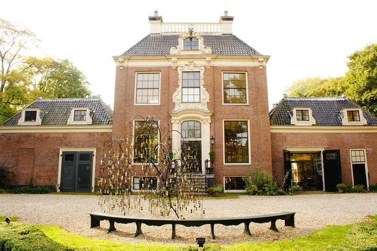 Charles Avery in front of Huize Frankendael, Amsterdam (19 October - 1 December 2013)