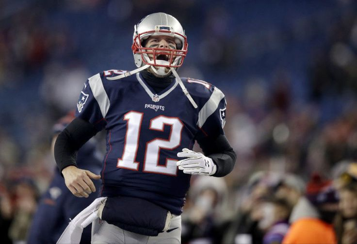Is Tom Brady having his best season ever? = New England Patriots quarterback Tom Brady once said he hoped to play until he was 45 years old and everyone laughed. So he responded by…..