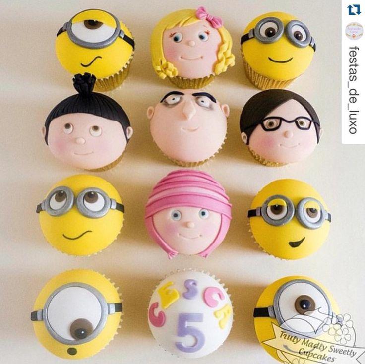 Best 25 Cupcake Minions Ideas On Pinterest Minion