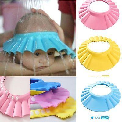 Мягкий и Регулируемая Ребенка Шапочка Для Душа Детский Шампунь Ванны Для Мытья Волос Щит Hat Мягкие и Регулируемые #hats, #watches, #belts, #fashion, #style