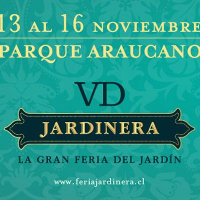 Estamos trabajando para Jardinera 2014.  La feria se desarrollará en el Parque Araucano desde el 13 hasta el 16 de noviembre.  En ésta ambientaremos y decoraremos  400 mt2 de jardines y terrazas con piezas escogidas del campo chileno.