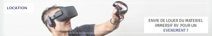Location & Animation Oculus Rift DK2 et CV1 - Devis en 24H