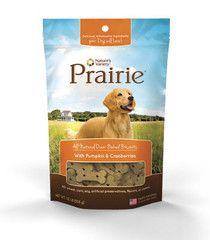 Prairie Galleta para perro de Calabaza y Arándano | Nature's Variety | pet n'GO