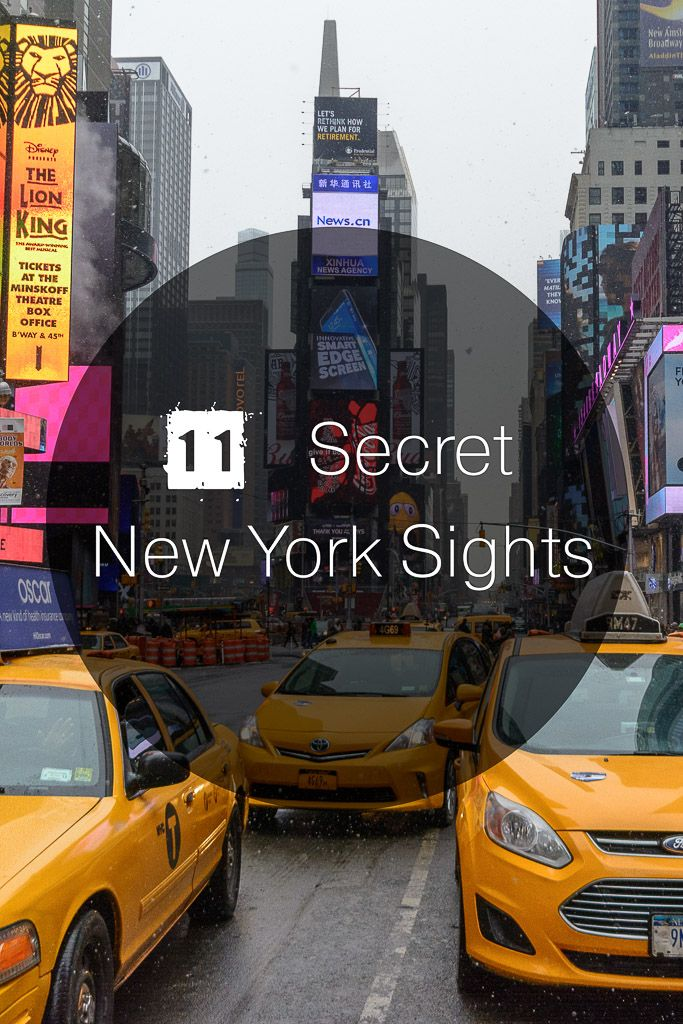 Secret sights in New York City 39