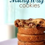 Deep Dish Milky Way Cookies // I would wreck any sort of diet if I had these in the house. Wow!