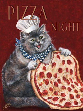 Gloria West / Cat chef - Pizza Night