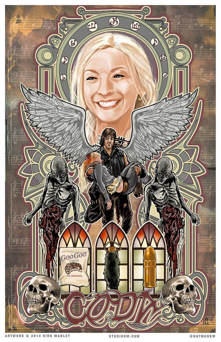 Coda - Walking Dead Tribute Art by batmankm.deviantart.com on @DeviantArt