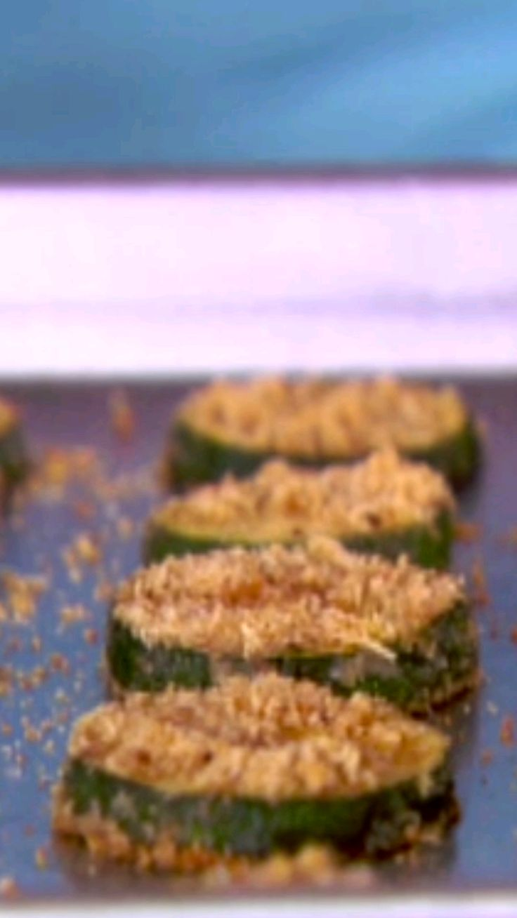 Ellie's tricks of the trade lighten the calories and fat in zucchini chips for the perfect healthy snack.