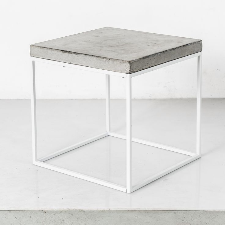 white Oakland side table or stool found at www.patrickcaindesigns.com