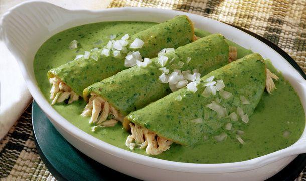 Enchiladas de espinaca #CuidarseEsDisfrutar