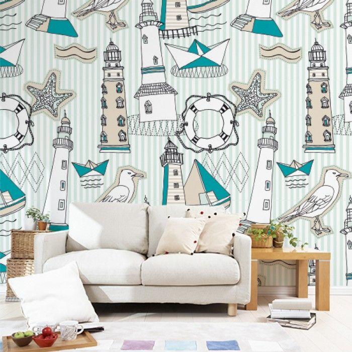 Oltre 1000 idee su carta da parati per la stanza su - Ikea carta da parati ...
