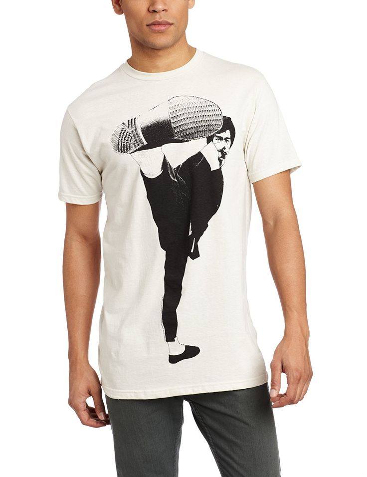 High Quality Casual Printing Tee Impact Men'S Bruce Lee Side Kick T Shirt #Affiliate