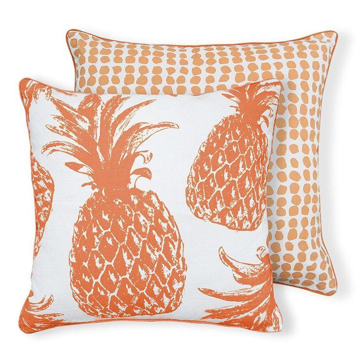Pineapple Coral Cushion 50cm