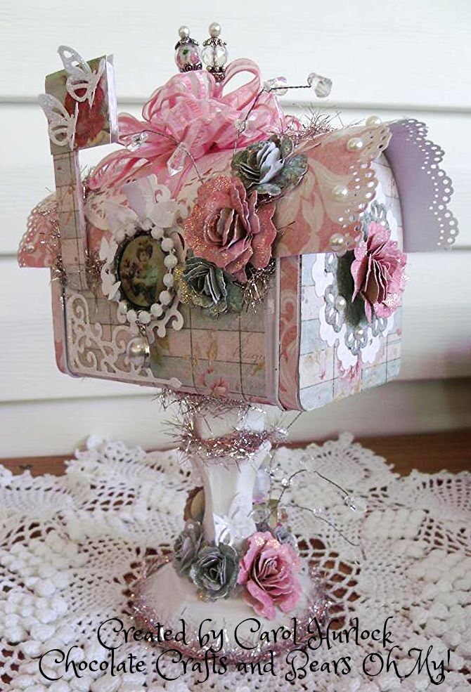 Shabby chic crafts to make you should have arrived here for Mini tin mailboxes for crafts