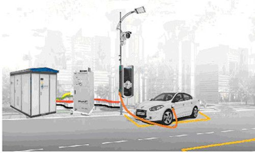 Street Lamp Electric Vehicle Charging Stations Are A Bright Idea  ... see more at InventorSpot.com