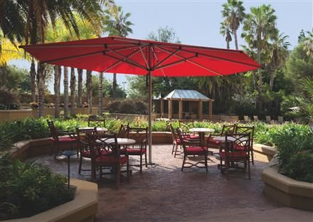 The Astral Octagon Umbrella Is Colossal Giant Of Shademakers Centerpost Styles Large Enough For Almost Any Outdoor Commercial Area