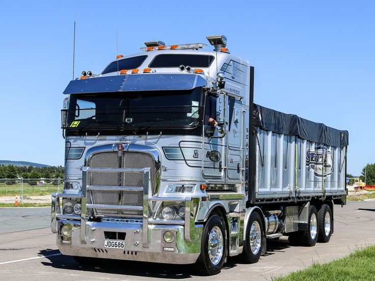 Rare 8x4 Kenworth K200 rigid at the Mount Truck Show 2016 ...