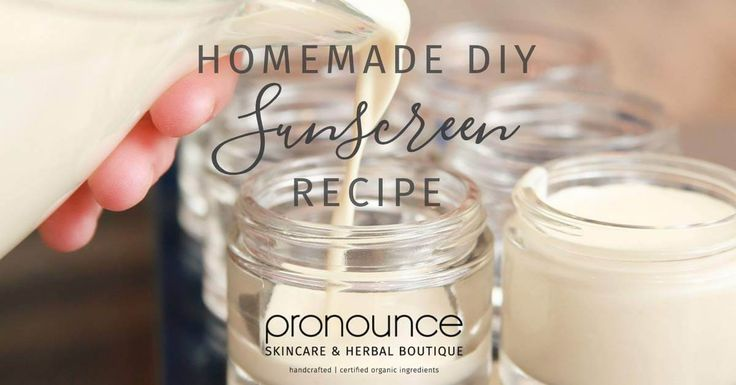 Finally! The perfect non-toxic, homemade sunscreen. An easy and incredibly effective DIY sunscreen that you need for you and your family. YOU can make this!