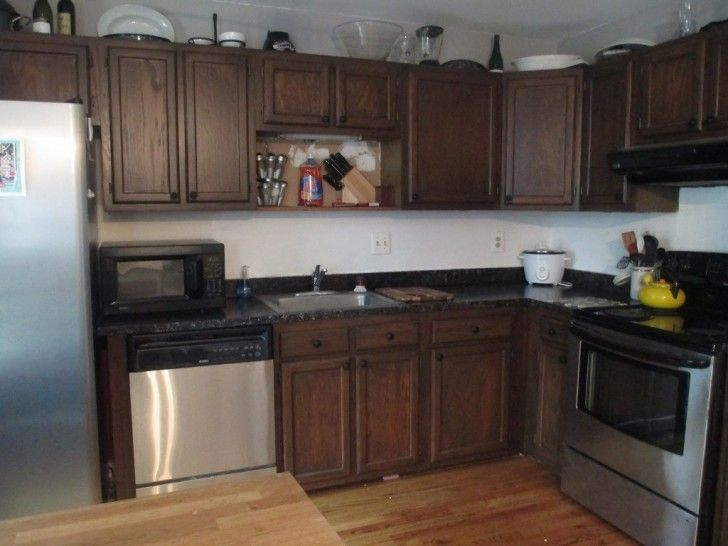 Best 25 Restaining Kitchen Cabinets Ideas On Pinterest How To Refinish Cabinets Redoing
