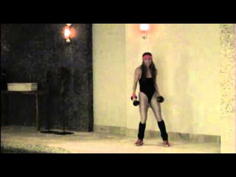 Sylwia Wiesenberg Tonique Fitness 80s aerobic dance workout Halloween