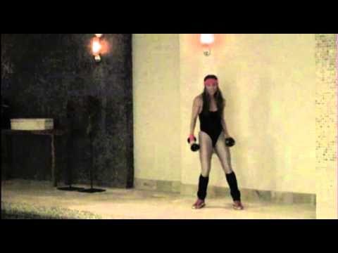 Sylwia Wiesenberg Tonique Fitness 80s aerobic dance workout Halloween