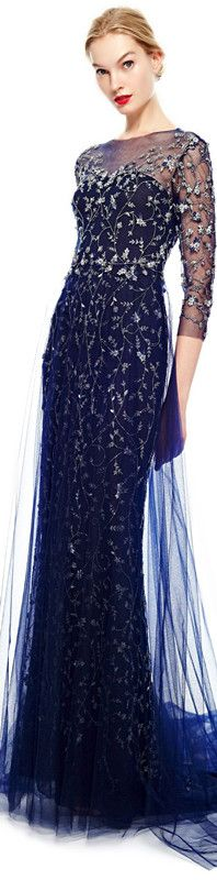 Marchesa ● Pre-Fall 2014 This reminds me of my all-time favorite ballgown!