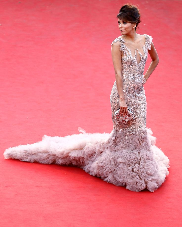 Eva Longoria Pink Dress December 2017