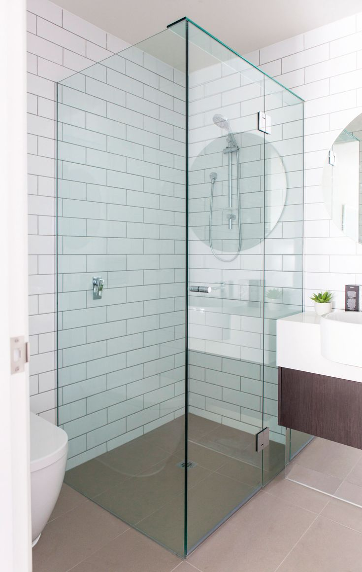 8 best Frameless Shower Screens | VIVANT GLASS images on Pinterest ...