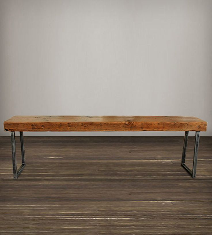 Reclaimed Wood Bench | Home Furniture | J W Atlas Wood Company | Scoutmob Shoppe | Product Detail