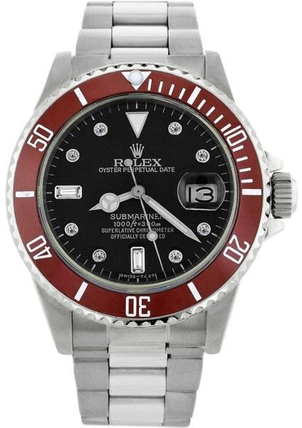 Rolex Submariner 16610 Stainless Steel & Black Dial 40mm Mens Watch