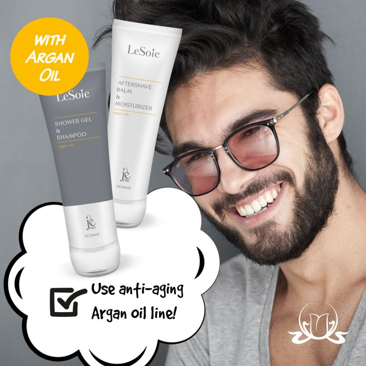 Do's and Don'ts for better skin. DO think about #wrinkles early! Even if you're still getting ID'd at the bar, adding an #antiaging #AfterShave Balm and Moisturizer to your daily routine in your 20s will help stave off fine lines and wrinkles down the road. Discover anti-aging #Argan Oil line!  #SkinCare #LeSoie