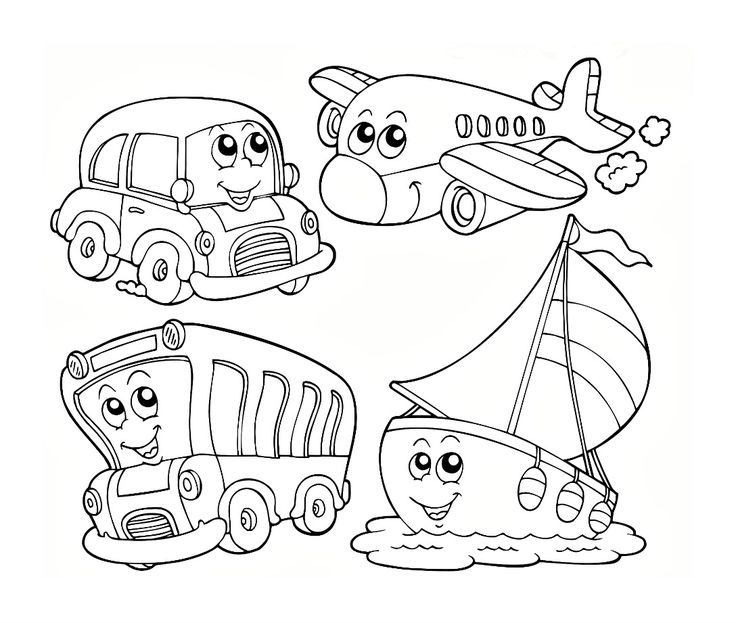 Colors For Children To Learn With Train Transporter Toy Street Vehicles Learn Colors For Kids: Best 25+ Preschool Coloring Pages Ideas On Pinterest