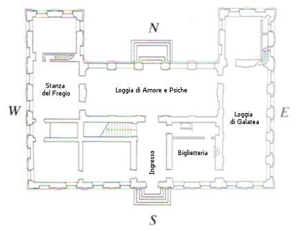 piano terra Villa Farnesina