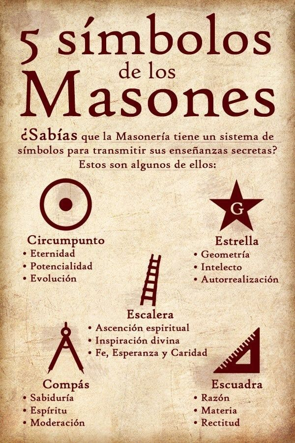 5 símbolos masónicos en 2020 | Símbolos masónicos