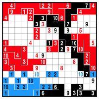 Color Link-a-Pix - step 3 (B)