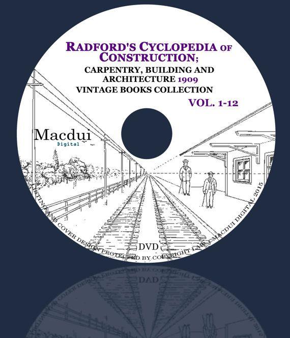 Radford's Cyclopedia of construction carpentry by MacduiDigital