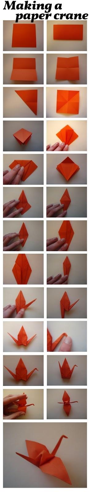 DIY: Folding a paper crane