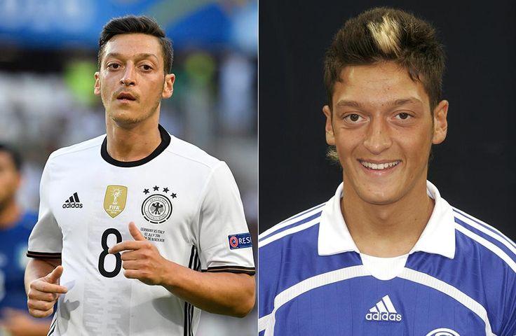 Zwar hatte Mesut Özil2007 beim FC Schalke 04 noch ein charmantes Lächeln drauf, doch die Frisur mit der
