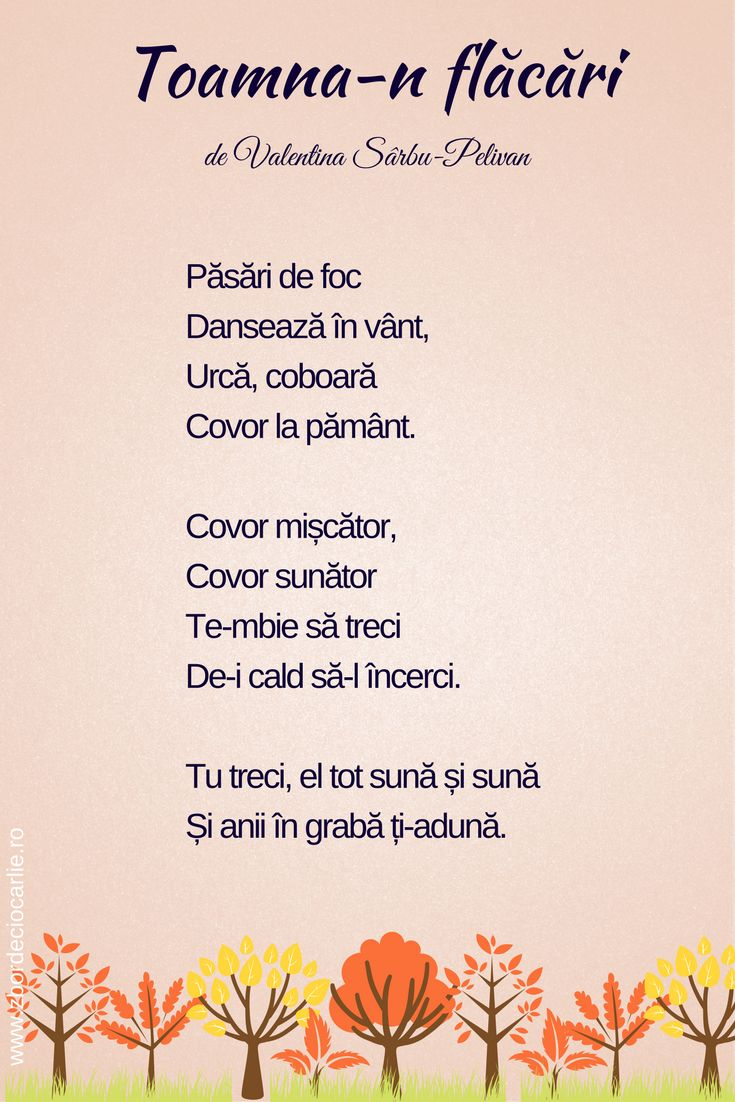 Poezii despre toamna, poezii scurte, poezii romanesti, poezii de Valentina Sarbu-Pelivan