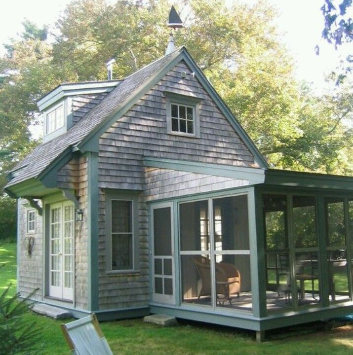 Notice the tiny house perfect for one person and a small for Single person house