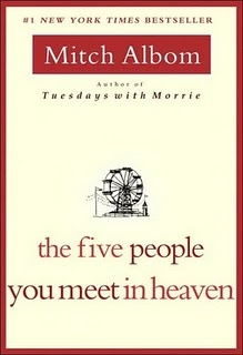 The Five People You Meet In Heaven. Mitch AlbomWorth Reading, Book Worth, Meeting, Amazing Book, Mitch Albom, Favorite Book, People, Good Books, Heavens