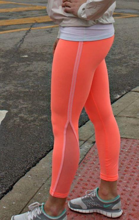 Neon tights! #fitness #running #health