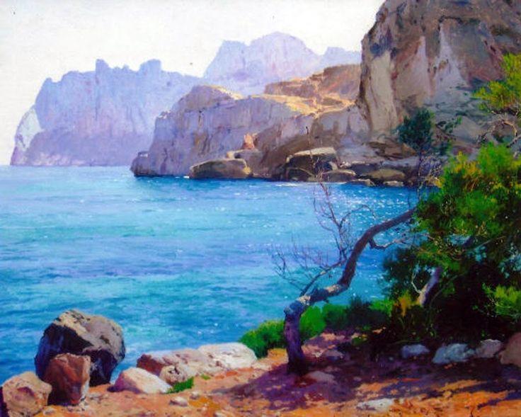 14 best Mallorca en pintura images on Pinterest  Oil on