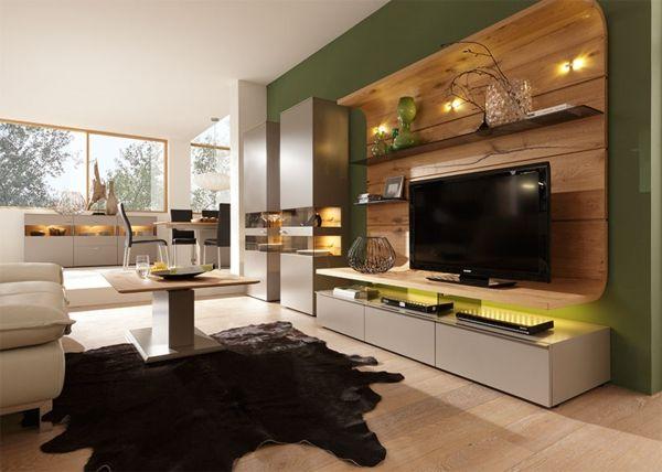 wandfarben ideen schöne farbkombination von beige und grün