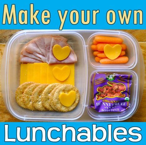 You know your kids are asking for these, so make them healthy yourself! #lunchables