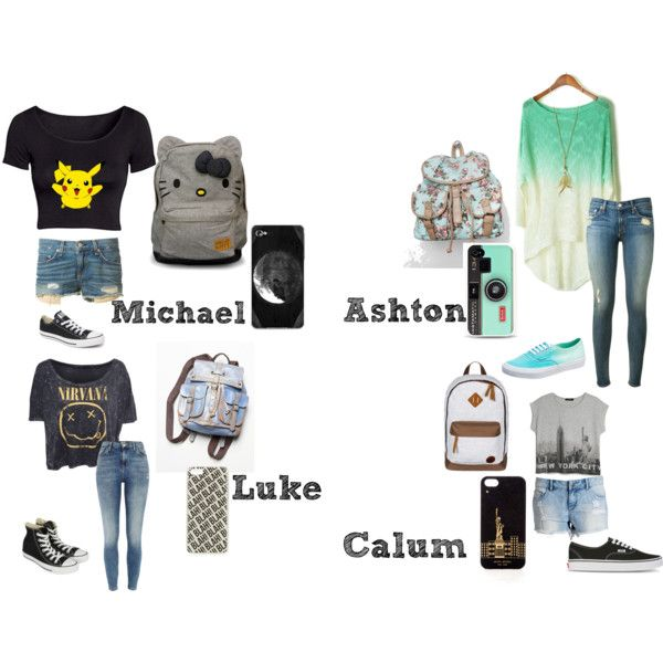 """5 Seconds of Summer preference (The outfit he likes on you)"" by vawesome1201 on Polyvore"