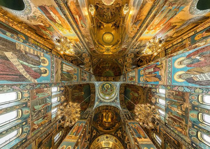 Inside Savior on the Spilled Blood St Petersburg (Russia) by Michael Maniezzo https://www.360cities.net/image/inside-church-of-the-spilled-blood-st-petersburg-russia#0.00,-89.80,110.0