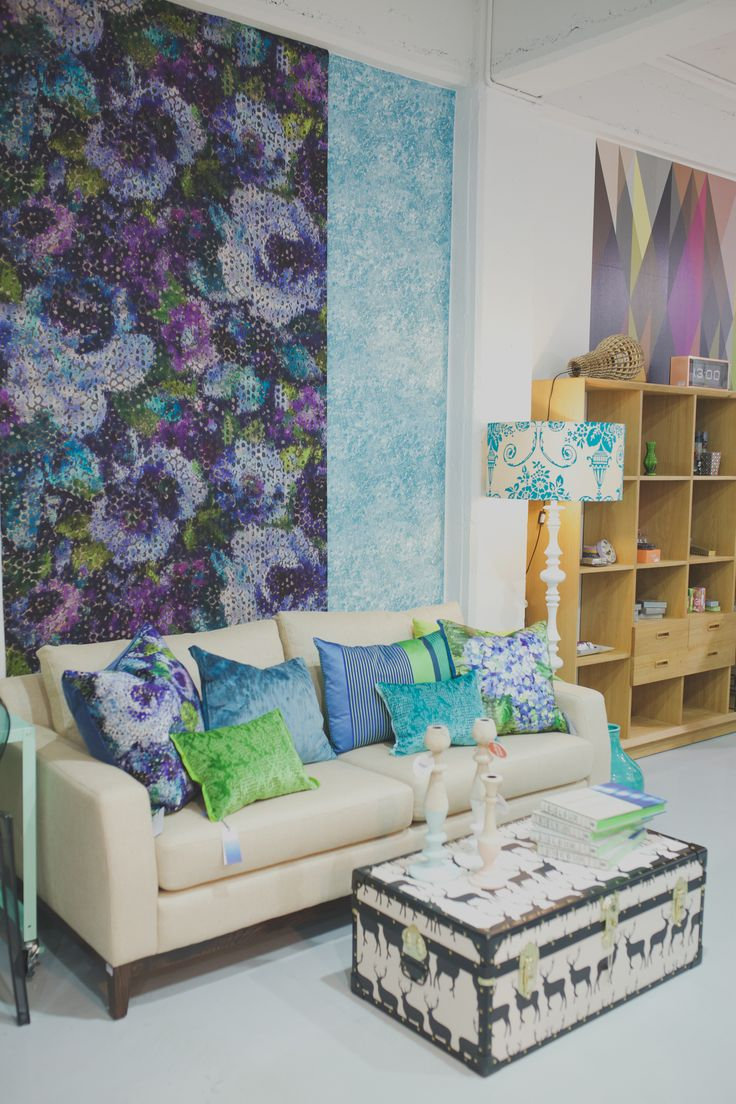 Stunning new wallpaper & cushions from Designers Guild