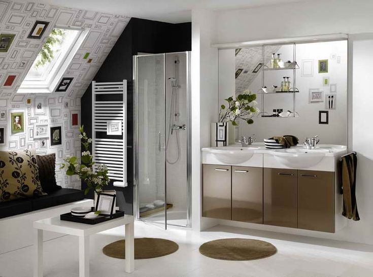 Best Luxurious And Simplest Bathroom Images On Pinterest - Purple and gray bathroom rugs for bathroom decorating ideas